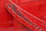 René Tardy - Stairways in red